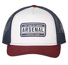Arsenal Kids Colour Block Trucker Cap