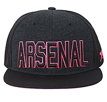 Arsenal Black & Pink Snapback