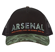 Arsenal Khaki Camo Trucker Cap