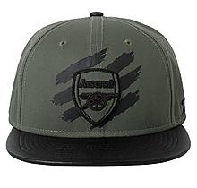 Arsenal Khaki Stripe Snapback