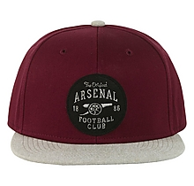 Arsenal Burgundy Contrast Cap
