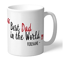 Arsenal Personalised Best In The World Mug