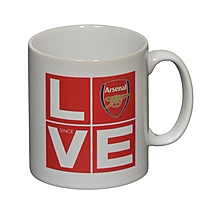 Arsenal Personalised Love Since Mug