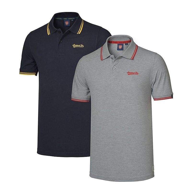 Arsenal 2pk Embroidered Polo Shirts Official Online Store