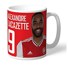 Arsenal Personalised Lacazette Autograph  Mug