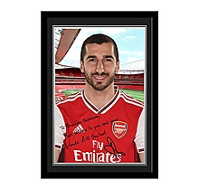 Arsenal Personalised Mkhitaryan Signature Photo Frame