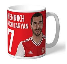 Arsenal Personalised Mkhitaryan Autograph Mug