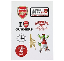 Arsenal Stickers Pack