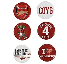 Arsenal Badge Set