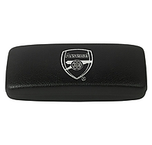 Arsenal Black & Silver Foil Case