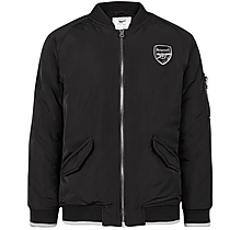 Arsenal Kids Since 1886 Black Bomber Jacket (4-13yrs)