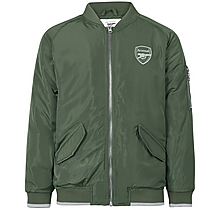 Arsenal Kids Since 1886 Khaki Bomber Jacket (4-13yrs)