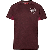 Arsenal Kids Leisure Marl T-Shirt (4-13yrs)