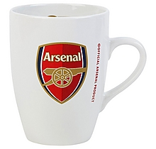 Arsenal White Bistro Mug