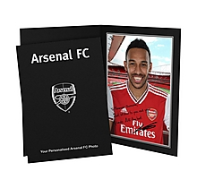 Arsenal Personalised Aubameyang Signature Photo Folder
