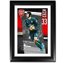 Arsenal Cech 17/18 Portrait Player Profile