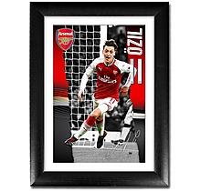 Arsenal Özil 17/18 Portrait Player Profile