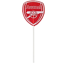 Arsenal Tutti Frutti Crest Lollipop
