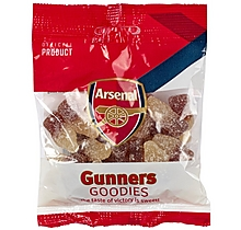 Arsenal Fizzy Cola Bottles Sweets Bag