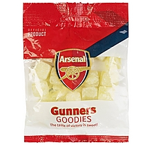 Arsenal Pineapple Cubes Sweets Bag