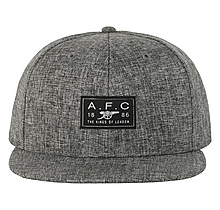 Arsenal Grey Cotton Twill Snapback