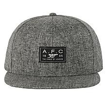 Arsenal Grey Cotton Twill Snapback