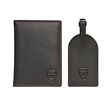 Arsenal Passport Holder and Luggage Tag Set