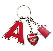 Arsenal Initial Charm Keyring