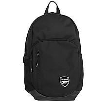 Arsenal Large Black Backpack