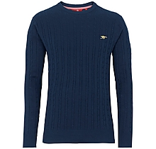 Arsenal Since 1886 Cable Knit Jumper