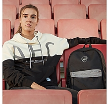 Arsenal Since 1886 Reflective Camo Black Backpack