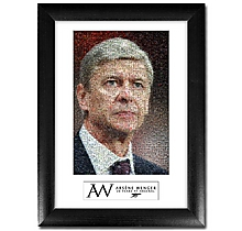 Arsene Wenger Mosaic Print