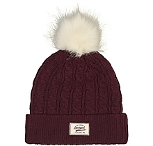 Arsenal Burgundy Bobble Hat