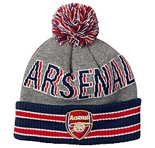 Arsenal Leisure Stripe Bobble Hat