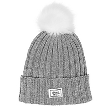 Arsenal Faux Fur Pom Beanie