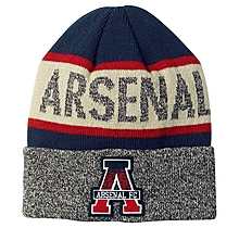 Arsenal Since 1886 Text Cuff Knit Beanie