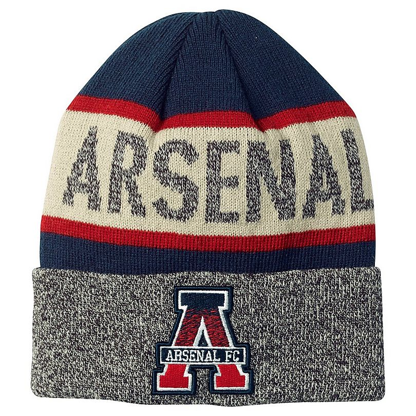 c001ab6b8 Arsenal Text Cuff Knit Beanie | Official Online Store