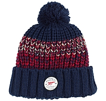 Arsenal Chunky Fleece Lined Knit Pom Beanie