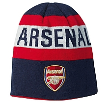 Arsenal Leisure Reversible Text Badge Beanie