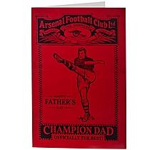 Arsenal Champion Fathers Day Card