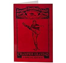 Arsenal Champion Grandad Card
