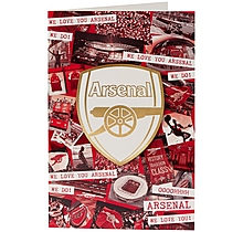 We Love You Arsenal Blank Card