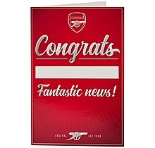 Arsenal Congratulations Card