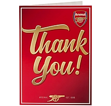 Arsenal Thank You Card