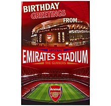 Arsenal Stadium Pop-up Card