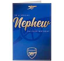 Arsenal Nephew Card
