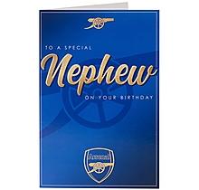 Arsenal Nephew Card
