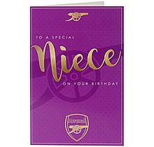 Arsenal Niece Card