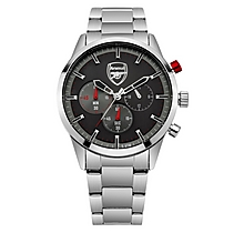 Arsenal Chronograph Stainless Steel Bracelet Watch