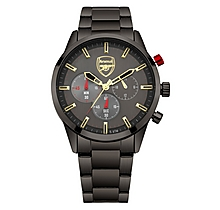Arsenal Chronograph Gunmetal Bracelet Watch